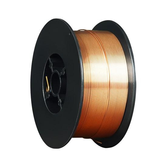 ER70S-6 ф.0,6мм, 1 кг (ан.Св08Г2С) Проволока стальная омедненная для полуавтоматической сварки - фото 12611