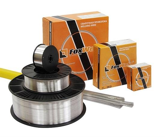 AlMg 5 (ER-5356) д.1,2 мм, 2,0 кг Проволока алюминиевая для полуавтоматической сварки - фото 12633