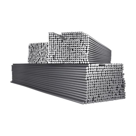 AlSi 5 (ER-4043) д.2,4х1000 мм, 5,0 кг Пруток алюминиевый - фото 12655