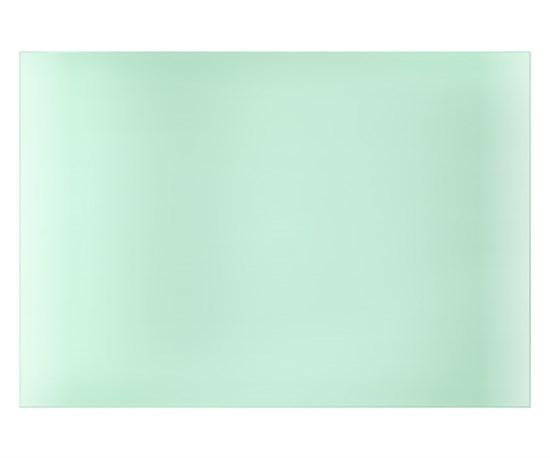 Поликарбонатное стекло внешнее 123х99мм для маски Космос (пр-во FoxWeld/КНР) - фото 12772
