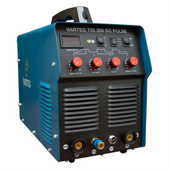Аппарат для аргонодуговой сварки VARTEG TIG 200 DC PULSE  - фото 13655