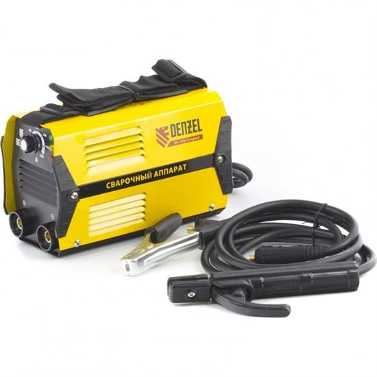 Аппарат инверторный дуговой сварки DS-200 Compact, 200 А, ПВ 70%, D электрода 1,6-5 мм. DENZEL - фото 13703