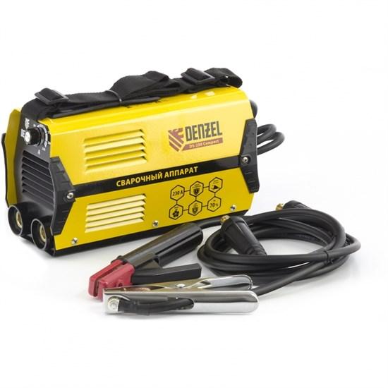 Аппарат инверторный дуговой сварки DS-230 Compact, 230 А, ПВ 70%, диаметр электрода 1,6-5 мм Denzel - фото 13704