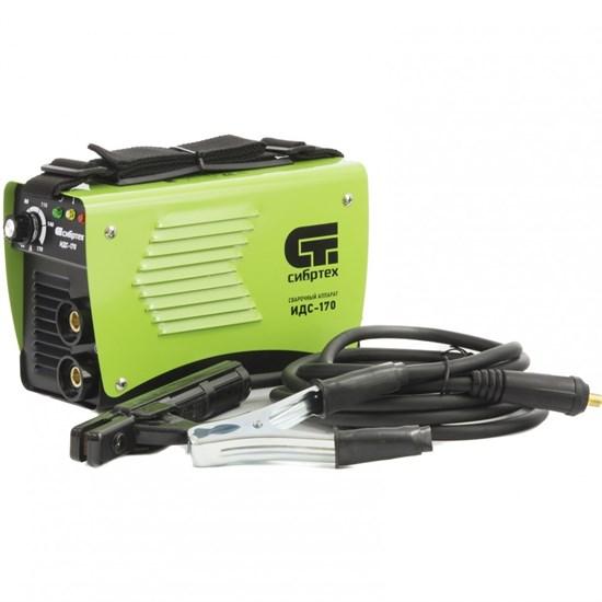 Аппарат инверторный дуговой сварки ИДС-170,170 А, ПВ 80%, D электрода 1,6-3,2 мм. СИБРТЕХ - фото 13705