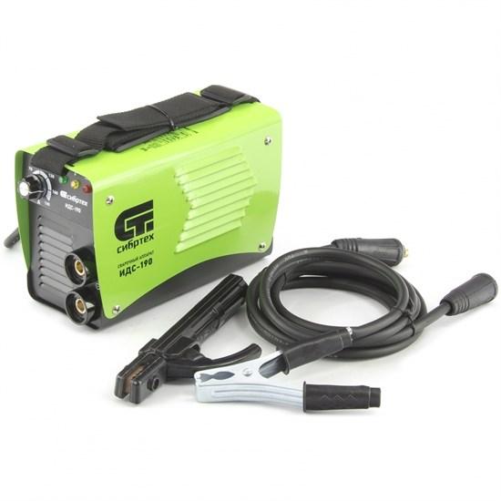 Аппарат инверторный дуговой сварки ИДС-190,190 А, ПВ 80%, D электрода 1,6-4 мм. СИБРТЕХ - фото 13706