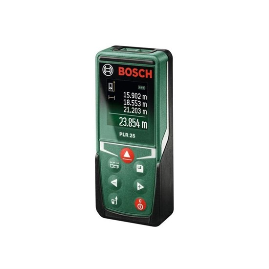 Лазерный дальномер Bosch PLR 25 (0603672521), 0.15-25 м, точность 2 мм - фото 19915