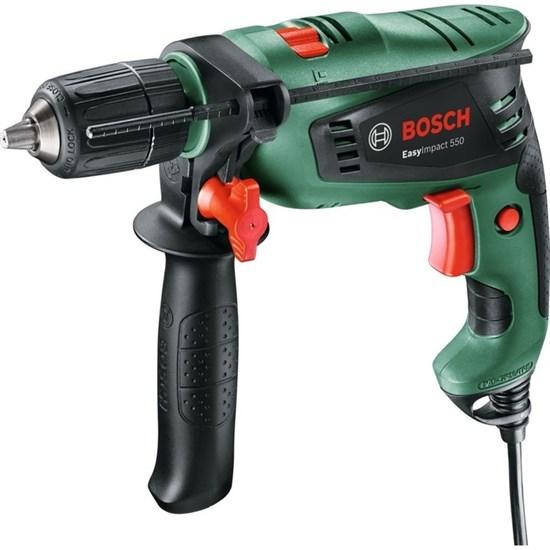 Ударная дрель Bosch EasyImpact 550 (0.603.130.020), 550 Вт, БЗП 13 мм, 3000 об/мин, кейс - фото 19998