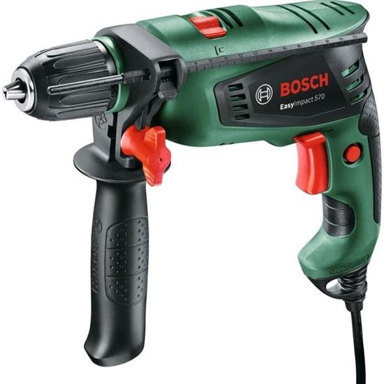 Ударная дрель Bosch EasyImpact 570 (0.603.130.120), 570 Вт, БЗП 13 мм, 3000 об/мин, кейс - фото 19999