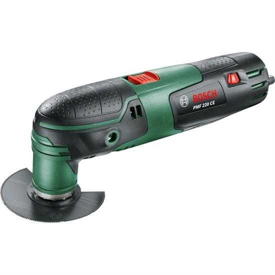 Многофункциональный инструмент Bosch PMF 220 CE (0.603.102.020), 220 Вт, кейс, 9 насадок - фото 20022