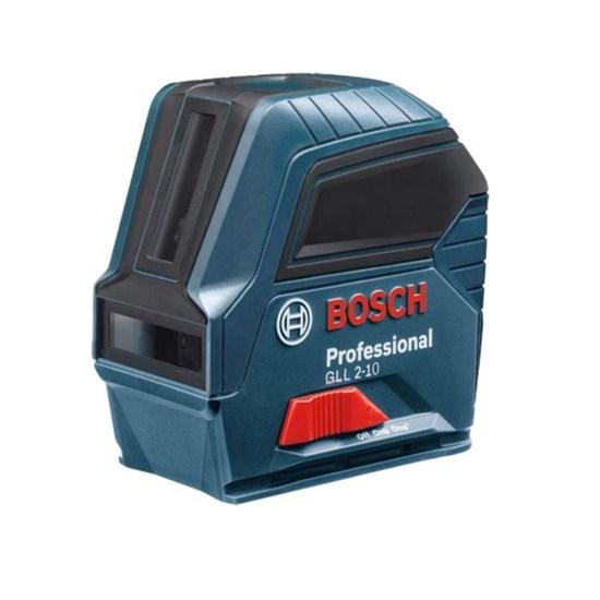 Лазерный нивелир Bosch GLL 2-10, IP54 (0601063L00), точность 3 мм, диапазон до 10 м - фото 20403