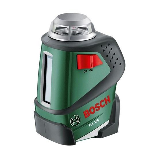 Лазерный нивелир Bosch PLL 360 (0603663020), 360 град., 2 луча, крепление - фото 20406