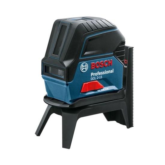 Лазерный нивелир Bosch GLL 2-15 Prof (0601066E02), IP54, ± 3мм, 15 м, креп. RM1, кейс - фото 20408