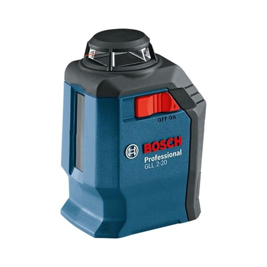 Лазерный нивелир Bosch GLL 2-20 (0601063J00), IP54, ± 3 мм, 20 м, креп. BM3, кейс - фото 20409