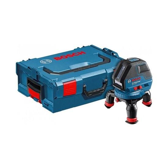 Лазерный нивелир Bosch GLL 3-50, IP54,3 луча,до 50м (с приемником), точность 3 мм, L-BOXX - фото 20411