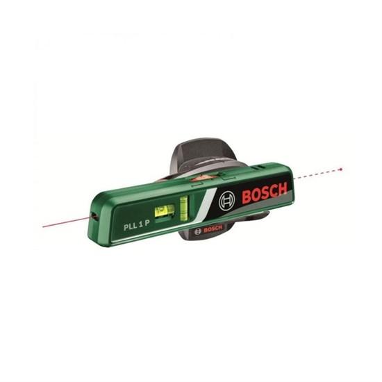 Лазерный линейный нивелир Bosch PLL 1P (0603663320), диапазон луч/точка 5/20 м, 1/4 - фото 20412