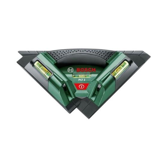 Лазерный нивелир Bosch PLT 2 (0603664020), диапазон 7 м, 2 луча - фото 20413