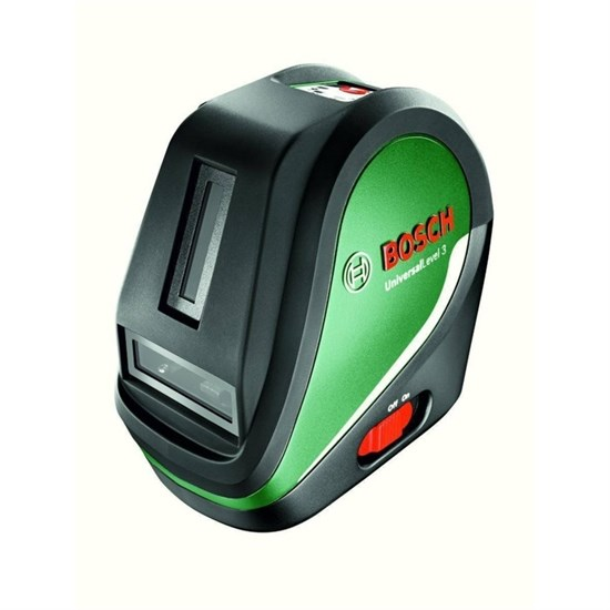 """Лазерный нивелир Bosch UniversalLevel 3 SET (0603663901),до 10м,крепление 1/4"""",штатив 1.5м - фото 20416"""