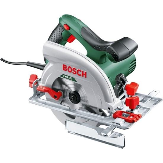 Циркулярная пила Bosch PKS 55 (0.603.500.020), 1200 Вт, диск 20х160 мм, 5600 об/мин - фото 21380