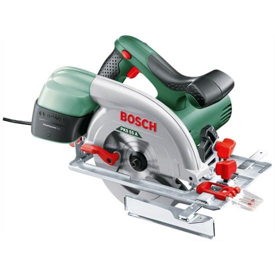 Дисковая пила Bosch PKS 55 A (0603501002), 1200 Вт, d=160 мм, посадочный d=20мм, 5600 об/мин   40109 - фото 21381