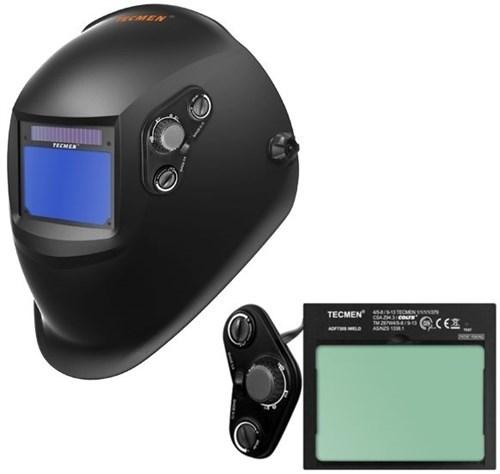 Сварочная маска с автоматическим светофильтром Tecmen ADF - 730S TM15 черная - фото 21605