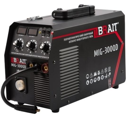 Сварочный полуавтомат Brait MIG-300QD - фото 21897