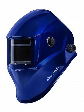 Маска сварщика хамелеон START-MASTER АСФ 605 (Синяя) - фото 25238