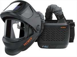 Сварочная маска Tecmen TM 1000 с подачей воздуха PAPR - фото 25468