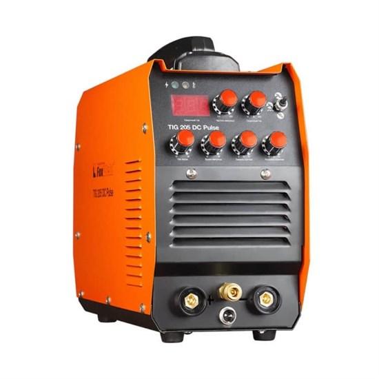 Аппарат аргонодуговой сварки TIG 205 DC Pulse (пр-во FoxWeld/КНР) - фото 25609