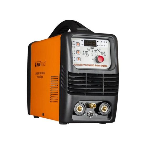 Аппарат аргонодуговой сварки SAGGIO TIG 200 DC Pulse Digital (пр-во FoxWeld/КНР) - фото 25622