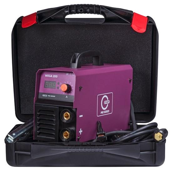 Сварочный аппарат WEGA 200 modelSTICK (Кейс) START PRO - фото 25667