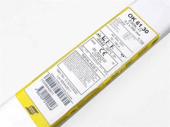 Электроды ОК-61.30 3,2мм (1,7 кг) - фото 6095