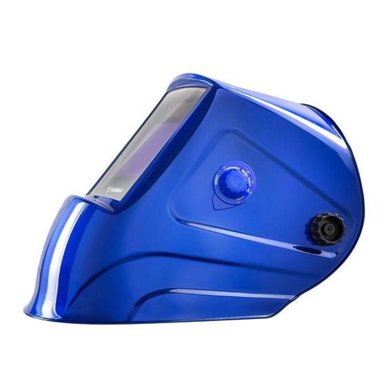 Маска сварщика Gefest «Синяя» хамелеон FoxWeld - фото 6532
