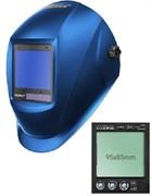 Сварочная маска с автоматическим светофильтром Tecmen ADF - 820S TM16 Синяя