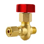 Вентиль газовый для установки на газовый коллектор