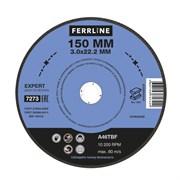{{photo.Alt || photo.Description || 'Круг отрезной по металлу FerrLine Expert 150 х 3 х 22,2 мм A46TBF'}}