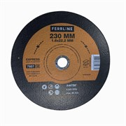 Круг отрезной по металлу Ferrline Express 230 х 1,6 х 22,2 мм A46TBF