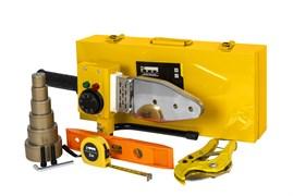 Аппарат для сварки пластиковых труб КЕДР СП-1700 PRIME в кейсе (220В, 0-300 C°, полный набор)